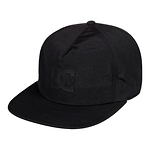DC-Shoes-Floored-snapback-lippis-musta