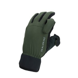 40-14204 | Sealskinz Waterproof All Weather hanskat vihreä M
