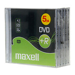 Maxell-DVDR--levy-16x-47GB-JewelCase-5kpl