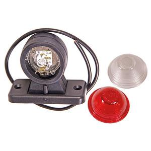 LED-Äärivalo valkoinen/punainen 10-30V | Motonet Oy