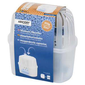 Absodry Kosteudenpoistaja Mini 450 g / 35 m³