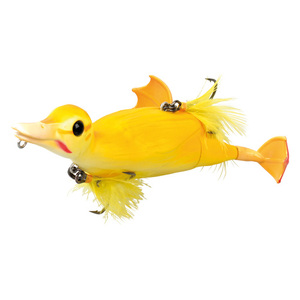 55-00187 | Savage Gear 3D Suicide Duck haukiviehe 10,5 cm 28 g Yellow