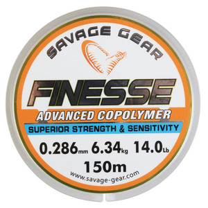 55-01884 | Savage Gear Finezze monofiilisiima 0,26 mm 150m