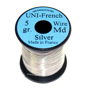 55-02225 | Uni French Wire runkolanka medium hopea