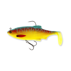 55-06537 | Westin Ricky the Roach Shadtail R 'N R 14 cm 57 g Sinking Parrot Special