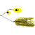 55-07086 | Westin Monster Vibe Indiana Blades 45 g spinnerbait Yellow Tiger