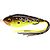 55-07097 | Westin Swim Hollowbody 9 cm 17 g Brown/Chartreuse Frog
