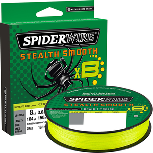 Spiderwire Stealth Smooth 8 kuitusiima 150 m