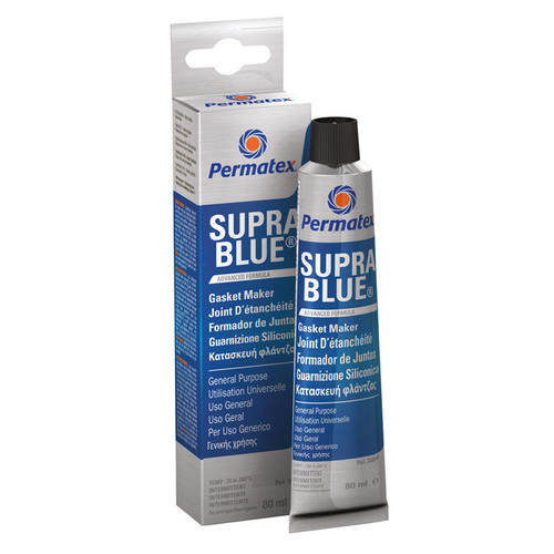 Permatex Supra Blue Tiivistesilikoni 80 ml
