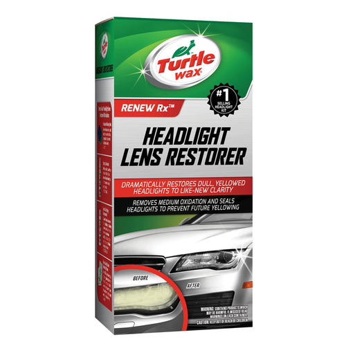 Turtle Wax Headlight Restorer Kit Ajovalojen kirkastaja