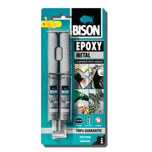 60-5319 | Bison Epoxy Metal Epoksiliima 24 ml
