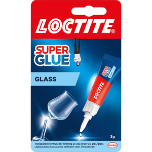 LOCTITE Super Glue Special Glass lasiliima 3g