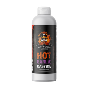 85-00815 | Poppamies Siipiweikot Hot Wings hot garlic 0,5 l