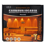 LED-saunavalosarja-teflon-messinki-9-osaa-03W-3000K-IP44IP20