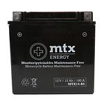 "90-1031 | MTX Energy MP-akku 12V 12Ah ""MTX14-BS"" (P150xL87xK146mm)"