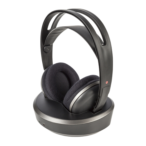 Langattomat RF kuulokkeet latausasemalla   Motonet Oy