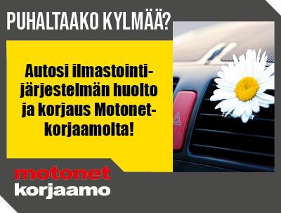 Toukokuun Motonet-korjaamon kampanja