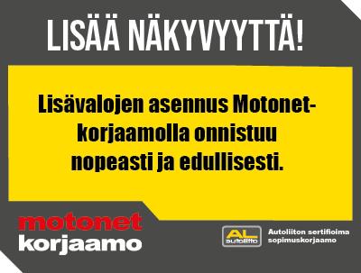 Motonet-korjaamokampanja
